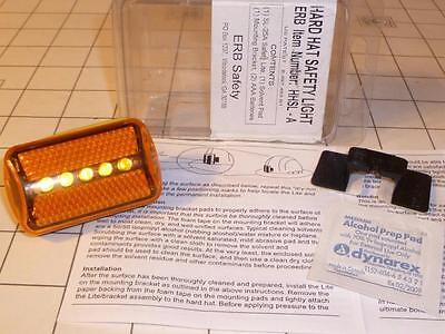 Erb Safety Harter Hut Licht Bernstein Hhsl-A Gelb Lampe Blinkt Stetig Reflektor