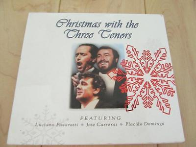 CHRISTMAS WITH THE THREE TENORS CD + DVD 22 TOTAL SONGS O HOLY NIGHT FIRST NOEL ()