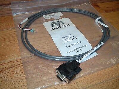 Sea Ray Maptech 6 Com Port Data I O Cable   305 0224 S