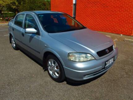 2001 Holden Astra Low Km Book History Sedan