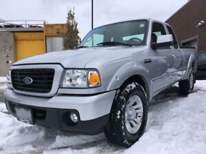 2009 Ford Ranger MANUAL TRANSMISSION!!! NO ACCIDENTS, ONE OWNER!