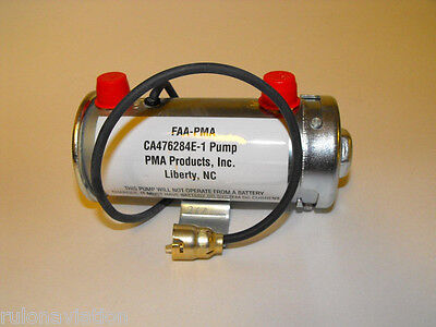 PMA FUEL TRANSFER PUMP - CA476284E-1 - FACET STYLE AVIATION PUMP FOR BEECHCRAFT