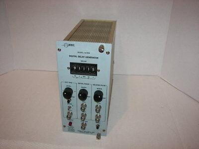 Bnc Berkely Nucleonics Corp. Model 7030a Digital Delay Generator Nim Bin Module