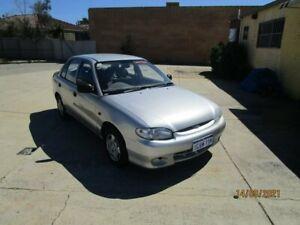 1999 Hyundai Excel X3 GLX Silver 4 Speed Automatic Sedan
