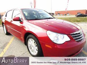 2008 Chrysler Sebring LX *** CERTIFIED ** LOW KM *** $6,499