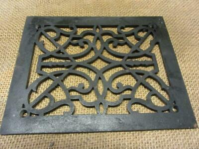 Vintage Cast Iron Register Grate > Antique Old Hardware Architectural 6961