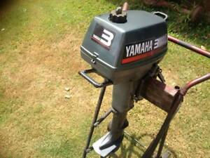 Outboard Motor YAMAHA 3HP 2 Stroke Short Shaft VGC!!!