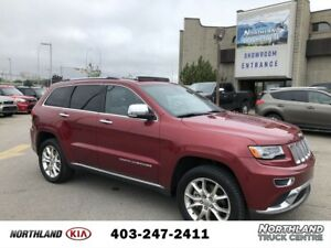 2014 Jeep Grand Cherokee Summit ECO DIESEL/LEATHER/PADDLE SHIFT