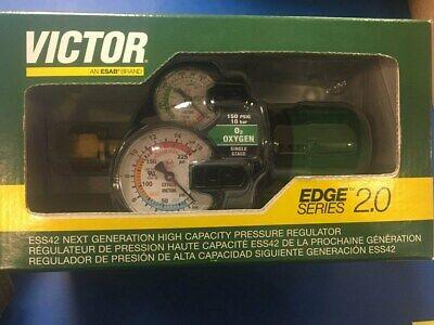 Victor Edge Series 2.0 Oxygen Regulator 150 540 0781-3601 Brand New
