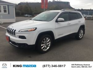 2015 Jeep Cherokee Limited! REMOTE START! 4X4! ONE OWNER** CLEAN