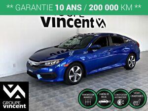 2017 Honda Civic LX ** GARANTIE 10 ANS **