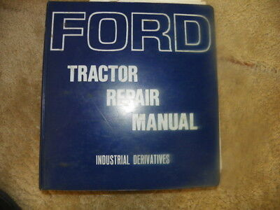 Ford 3400 3500 4400 Back Hoe Tractor Repair Manual