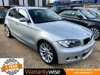 "2008/08 BMW 120D 2.0 177 M Sport Auto ""1 Year Warranty & Nationwide Delivery"""