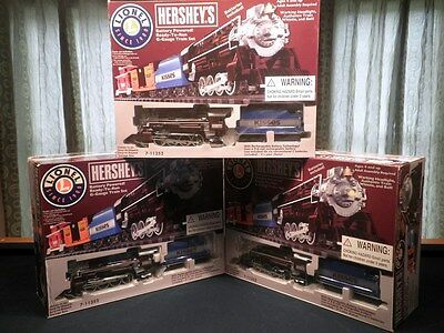 NEW Lionel HERSHEY Train Set G Gauge Remote Controlled Scale 6 FT Polar 7-11352