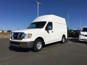 2017 Nissan NV SV 2500 HIGHROOF 399 B/W tax in 2 TO CHOOSE FROM