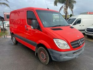 2012 Mercedes-Benz Sprinter 313CDI Amber Red 6 Speed Automatic Van Carrum Downs Frankston Area Preview