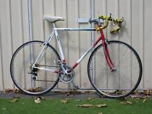 Height Frame  White and Red road Bike Kingsford Eastern Suburbs Preview