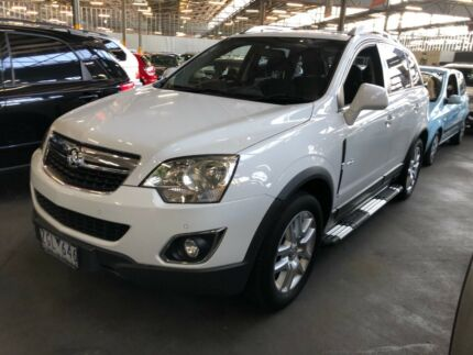 2012 Holden Captiva diesel 4x4 auto SUV North Hobart Hobart City Preview