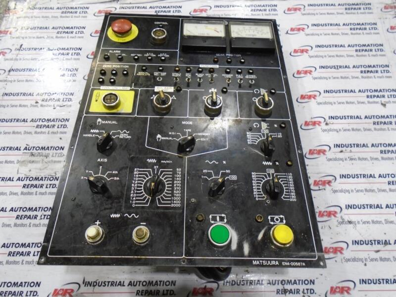 MATSUURA OPERATOR CONTROL PANNEL EN4-00587A