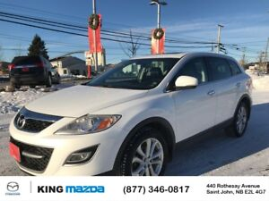 2012 Mazda CX-9 GT 7 PASS...AWD..HEATED LEATHER..POWER ROOF..SAT