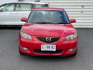 2005 Mazda 3 BK Maxx Sport Red 4 Speed Auto Activematic Sedan