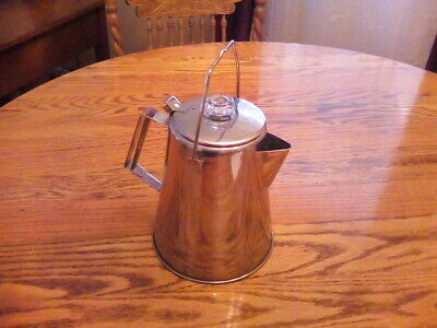 Details about  /Outdoor Teapot Coffee Pot 1.4L Aluminum For Camping Table Water Kettles