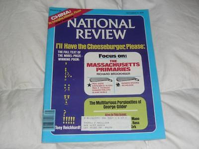 National Review Magazine   September 15 1978   China   Solzhenitsyn At Harvard