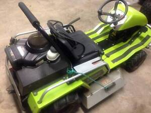 2010 GRILLO 916 Climber Ride On Mower / Slasher Flaxton Maroochydore Area Preview