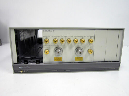 HP 85110L 2 GHZ PULSED RF S-PARAMETER 70001A TEST SET WITH OPTION K08 ~ AGILENT