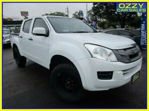 2013 Isuzu D-MAX TF MY12 SX (4x4) White 5 Speed Manual Crew Cab Chassis Penrith Penrith Area Preview