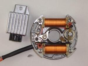 12 Volt Zündung Hercules Prima GT + Supra 4 GP Zündanlage Lichtmaschine MOTOPLAT
