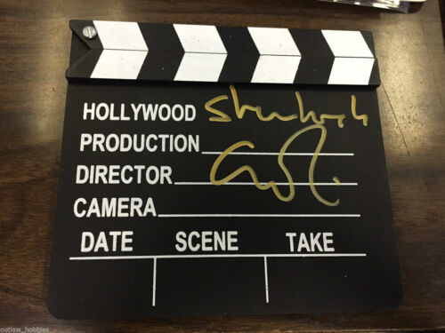 Sherlock Guy Ritchie Autographed Signed Hollywood Director Clapper COA
