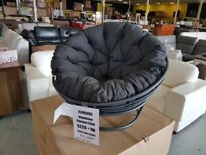 Papasan moon charcoal aluminium frame outdoor chair!! NEW!! Springwood Logan Area Preview