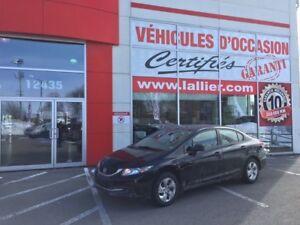 2013 Honda Civic LX **BLUETOOTH**SIÈGES  CHAUFFANTS**AUCUN ACCID