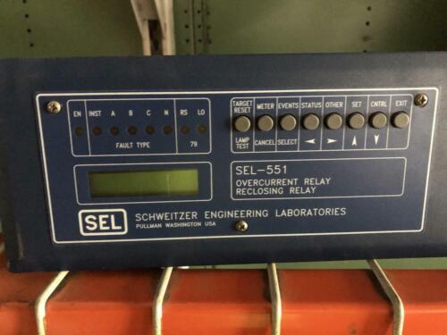 SEL-551 Overcurrent Reclosing Relay