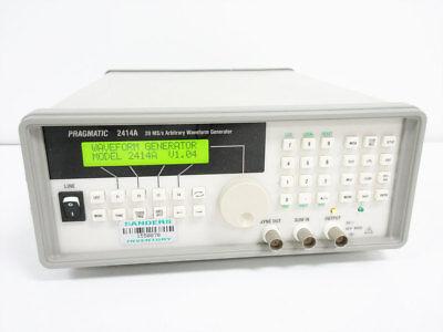Pragmatic 2414a 20 Mss Arbitrary Waveform Generator V1.04