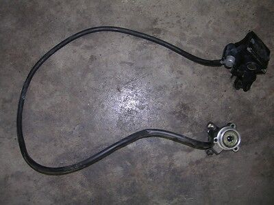 1996 TRIUMPH TRIDENT 900 CLUTCH MASTER AND SLAVE CYLINDER OEM