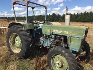 Diesel Farmliner Tractor Riddells Creek Macedon Ranges Preview