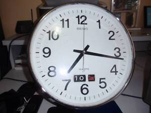 Clock  Seiko Kendall Port Macquarie City Preview