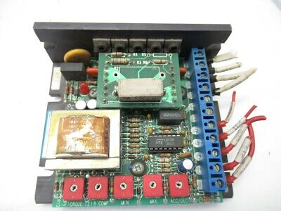 C-mh-23-787b-cm Cmh23787bcm -electrol Dc Motor Speed Control Used And Tested