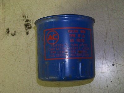 NOS AC Delco PF-12 Oil Filter 62 70 Pontiac Acadian Nova Chevy II 2.5L 4 cyl 69