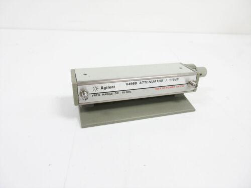 AGILENT 8496B ATTENUATOR 110 DB OPT 002 SMA (F) CONNECTORS ~ HP KEYSIGHT