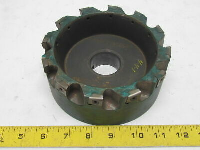 Ingersoll Max-i-pex Milling Cutter 6in Dia Face Mill W12 Indexable Inserts
