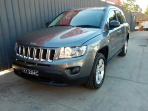 2012 Jeep Compass MK MY13 Sport Grey 5 Speed Manual Wagon Blair Athol Port Adelaide Area Preview