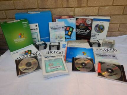Computer software and manuals from the 90's and later.