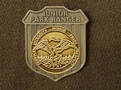 Metal Junior Ranger Badge  Jr Park Ranger National Park State Park Ranger  US