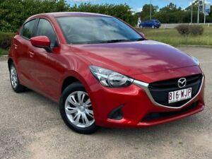 2015 Mazda 2 DJ2HA6 Neo SKYACTIV-MT Red 6 Speed Manual Hatchback Garbutt Townsville City Preview