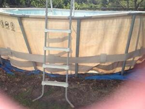 Metal frame pool Arcadia Hornsby Area Preview