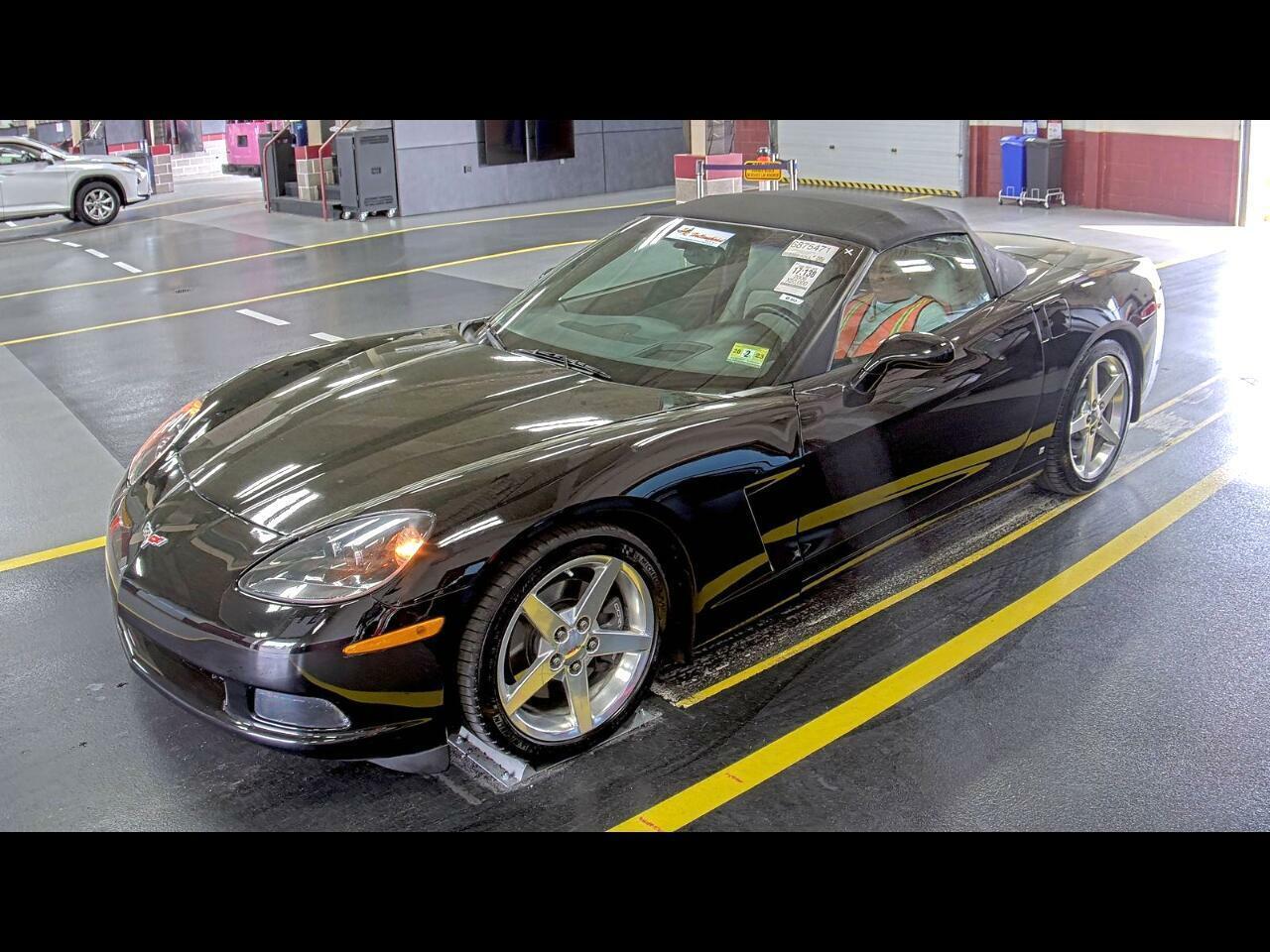 2006 Black Chevrolet Corvette Convertible  | C6 Corvette Photo 1