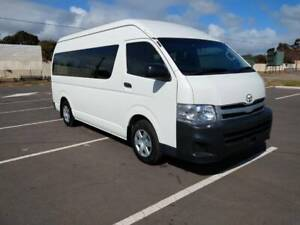 2012 Toyota Hiace Commuter Wheelchair Accessable Auto Low Km Petrol Marion Marion Area Preview